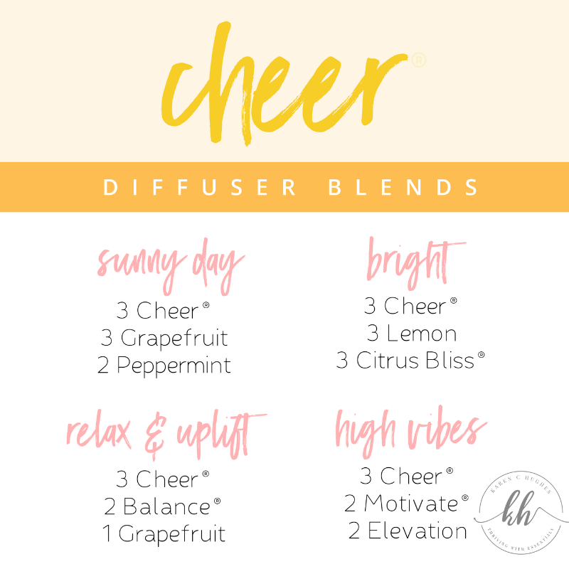 Diffuser Blends with Cheer