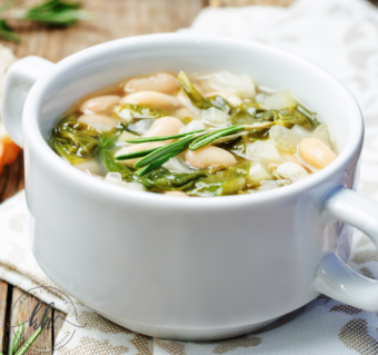 Rosemary Garlic White Beans